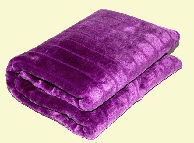 fake fur(mink)blanket