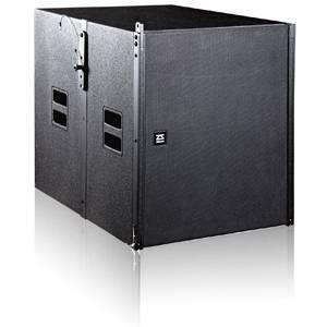 LA 110S Dual 15〞 (75mm voice coil) subwoofer