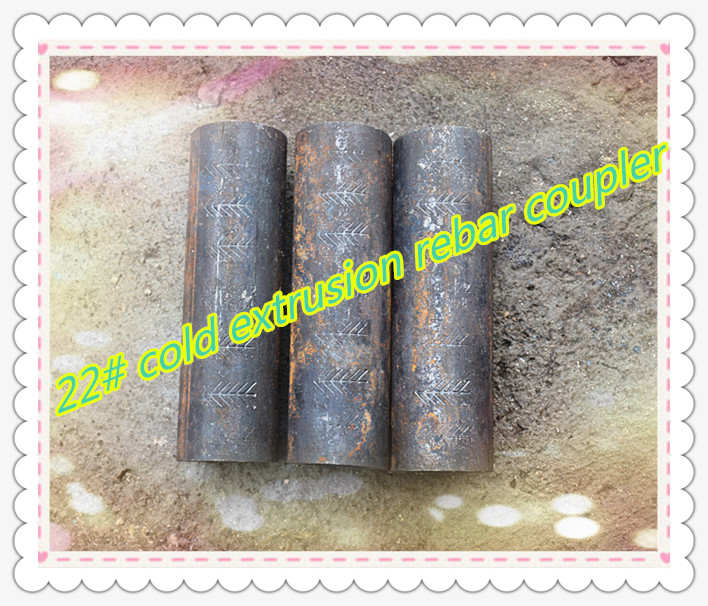 extrusion screw rebar coupler connector with factory price