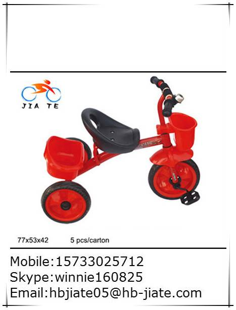 safety kids tricycle for 3-6 years boys and girls