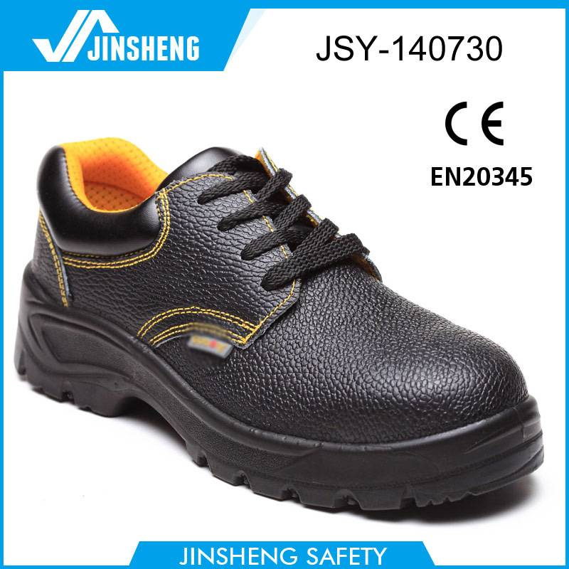 Suede slip resistant shoe high standard safety footwear