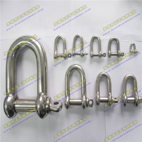 Stainelss Steel Shackle