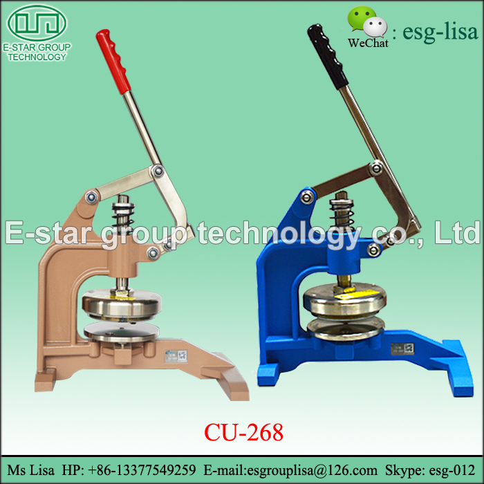 GSM Fabric Circle Hand-press Sample Cutter With Round Blade Knife