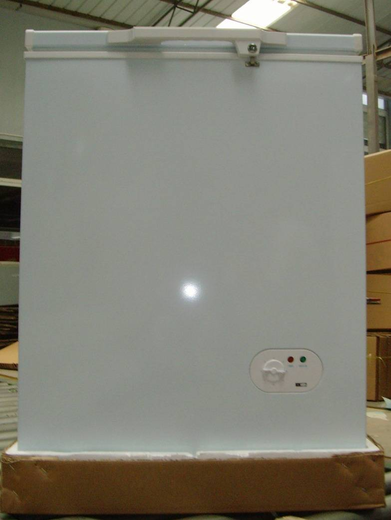 100L top open door freezer