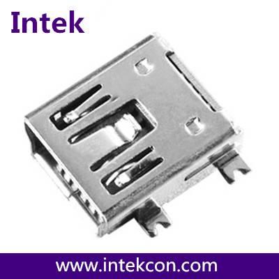 MINI USB 5P FEMALE SMT