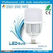 Pure white 6800k High cost-effective 80w high power Ra>70 plastic LED Bulb
