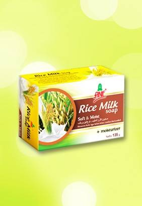 Ainie Rice Milk Natural Beauty Soap