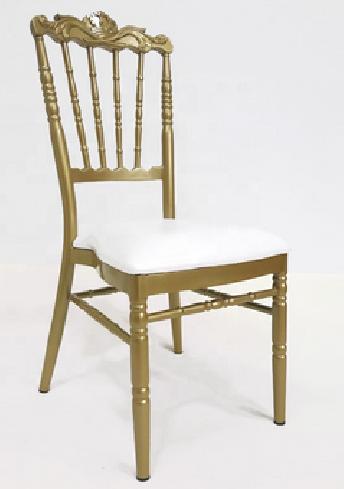 Metal Aluminium Iron Hotel Banquet Wedding Dining Chair