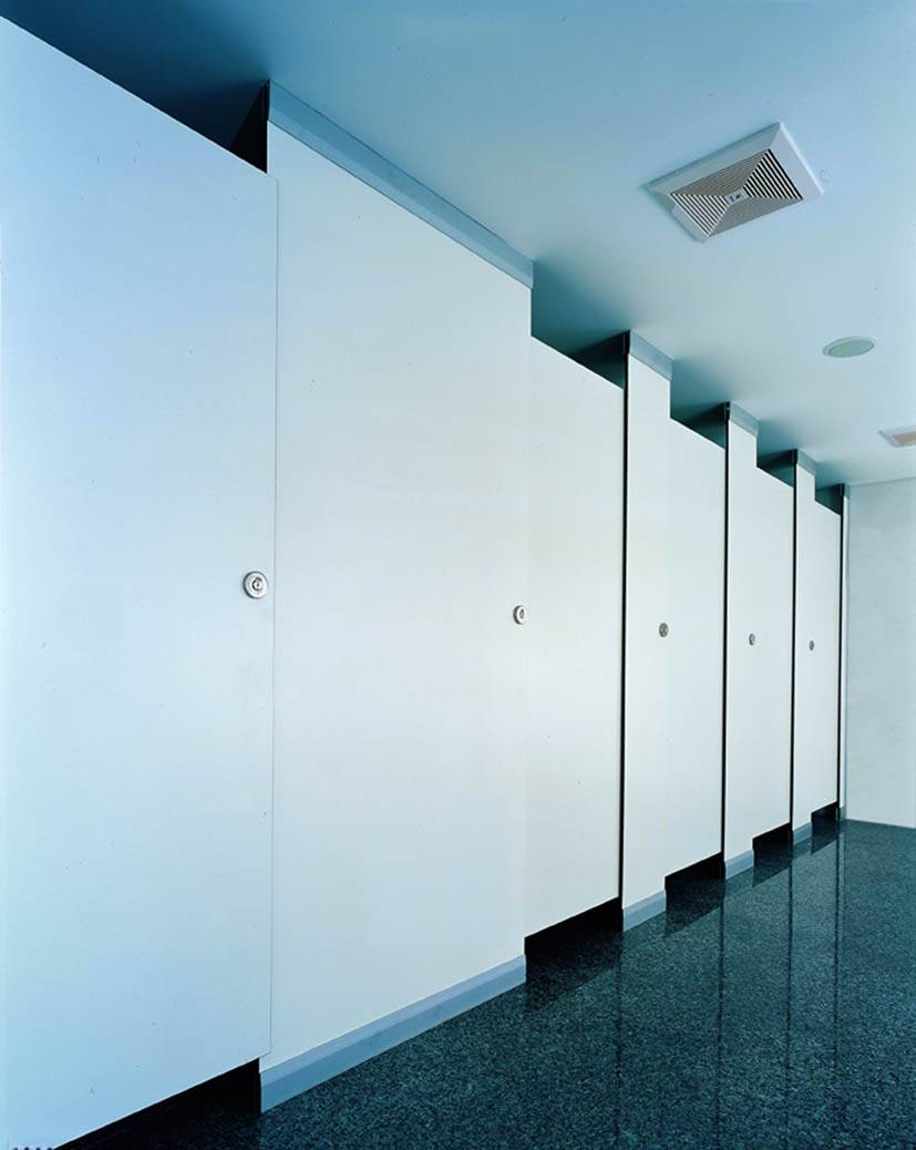 Top selling products 2015 rectangular toilet cubicles , compact HPL toilet cubicle partition with st