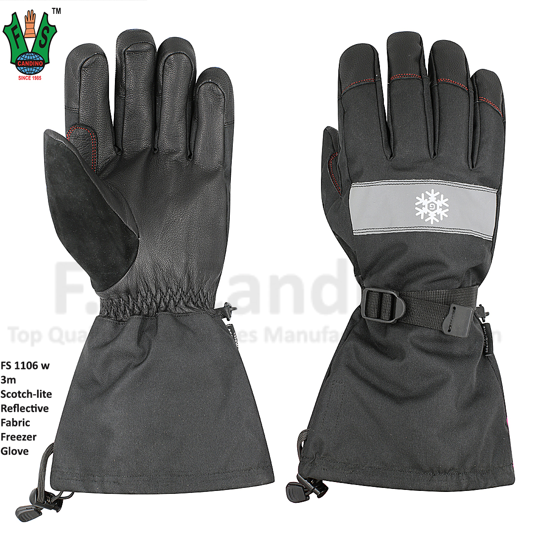 3m Scotch lite Reflective Freezer Winter Gloves