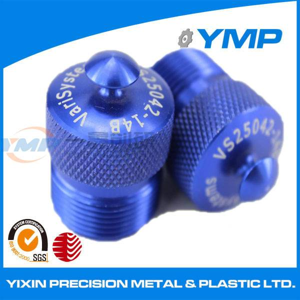Aluminium precision machined part oxidation anodized cnc machining