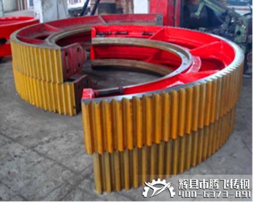 Big gear casting wheel,Helical Girth Gear factor,sand casting gear wheel