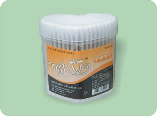 Wood Stick Cotton Swabs for Makeup Clean Baby Care