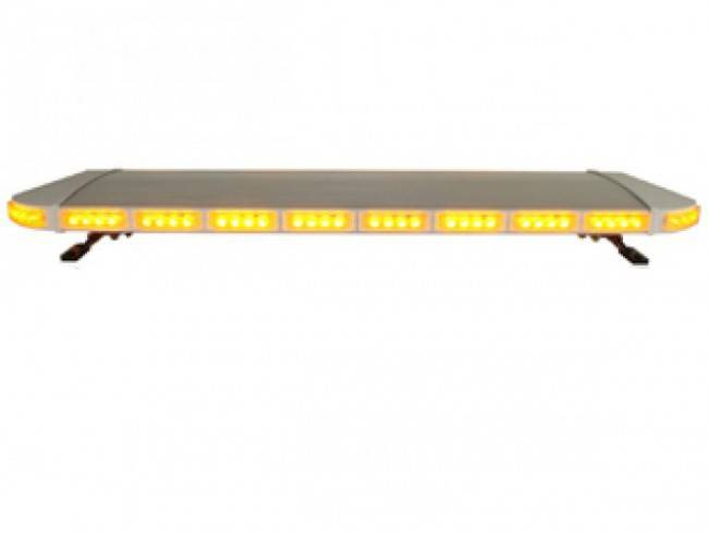 AMBER LED POLICE LIGHT WITH BLACK ALUMINUM COVER FOR POLICE NO.TBD-GRT-031