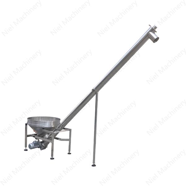inclined screw auger conveyor customization design