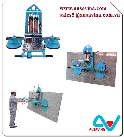 STONE VACUUM LIFTER 50 - Lifter stone, saw machine, vacuum lifter, Aframe, carry clamp, material han