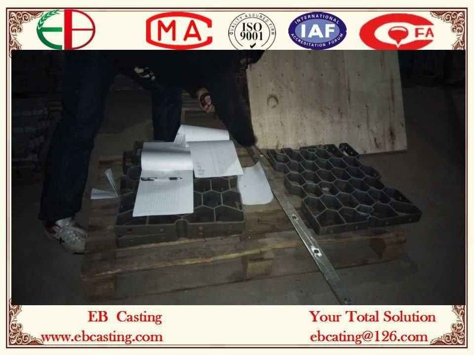 Size Inspection Base Trays for Heat treatment Ovens Size 700x500x50mm EB22156
