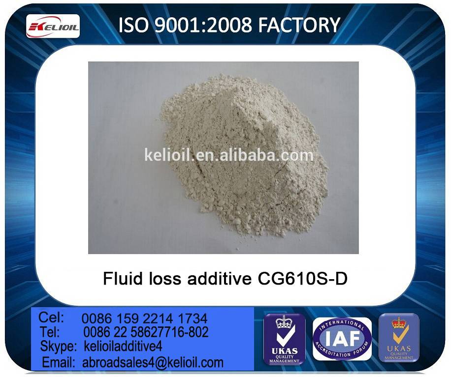 Oil Well Cementing Fluid Loss Additives