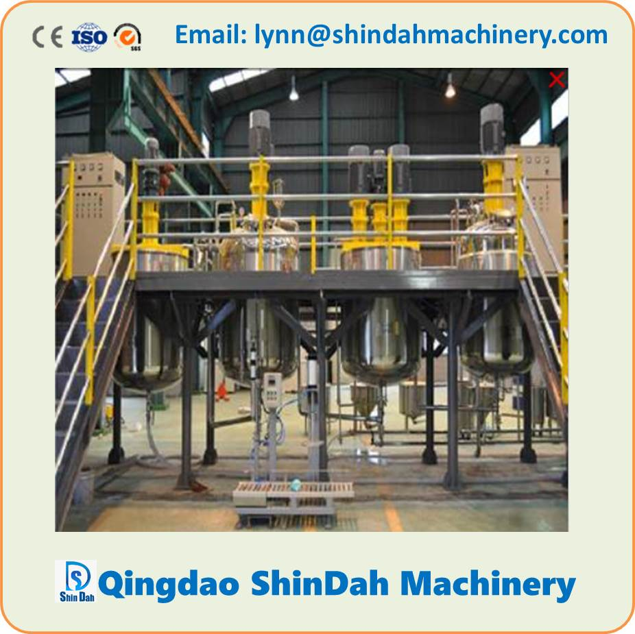 Water Based and Oil Based Paint Production Line, emulsion paint/coating production line