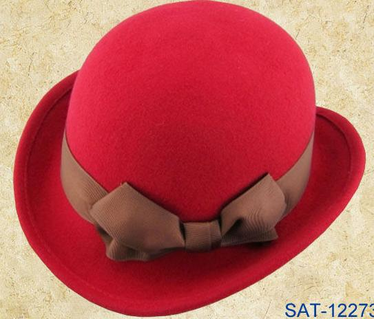 perfect wool felt derby bowler hat for wholessle