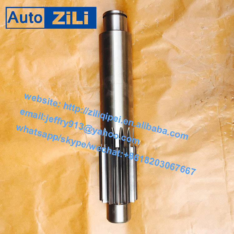 chinese supplier high quality spare transmission gearbox Counter Shaft 1280304004 for yutong qj805