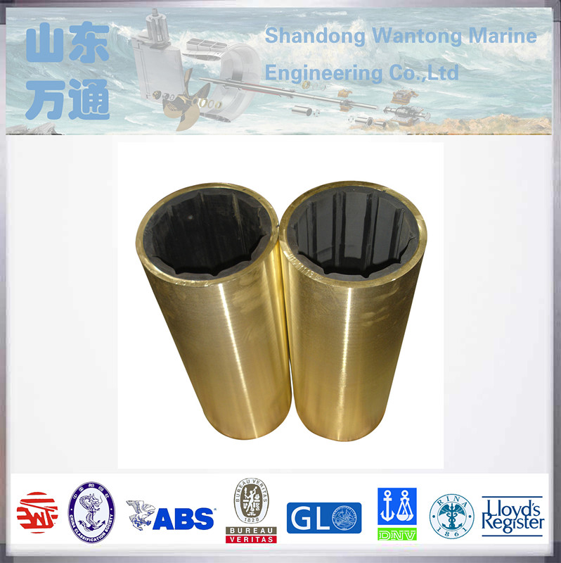 copper stern shaft marine bushing bearing water lubricated rubber bearing cutless rubber bearing