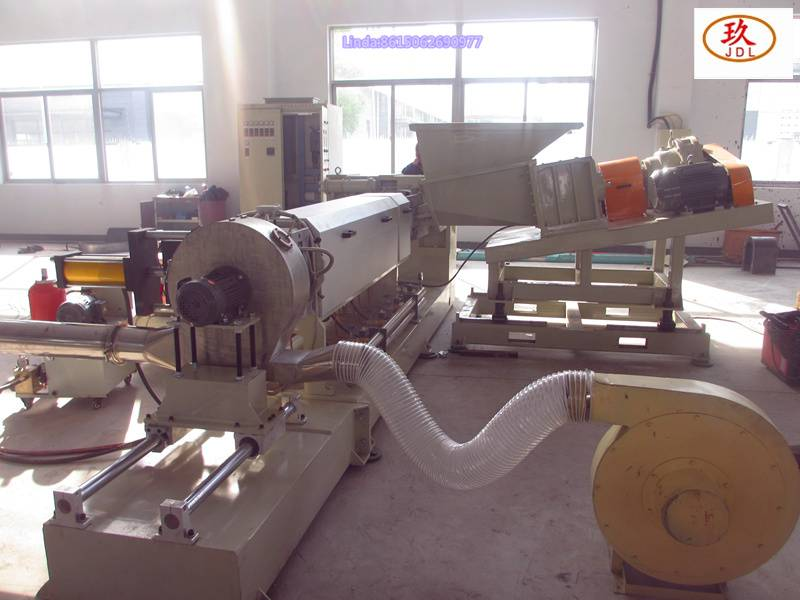 kneader+single screw granualtor production line