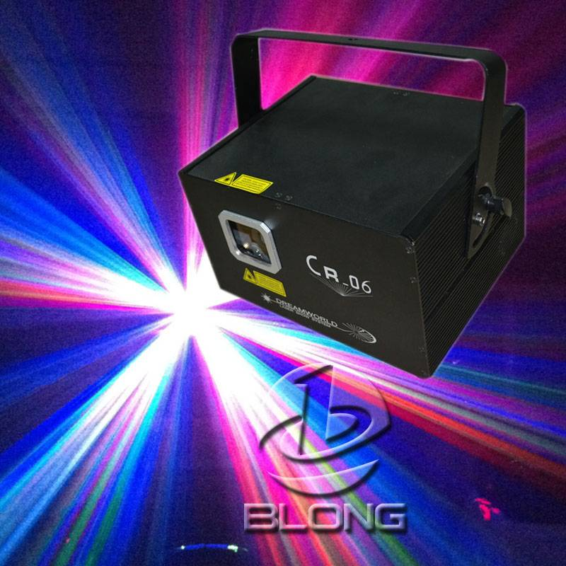 CR-06 RGB laser light pro stage lighting projector