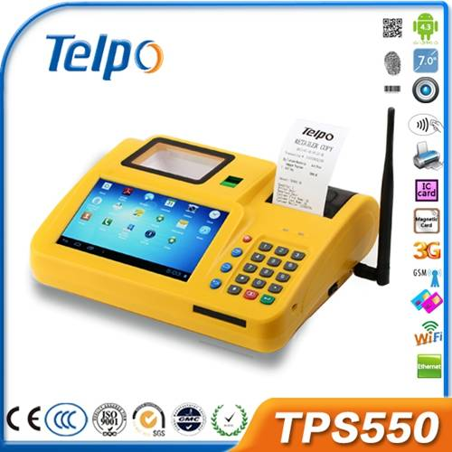 New arrival high quality android pos terminal TPS550, China pos terminal, cheap pos terminal