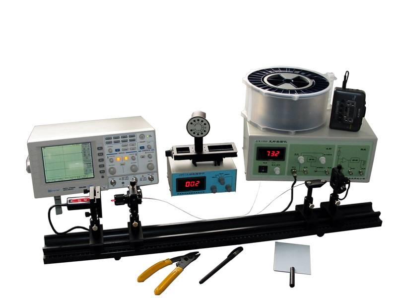characteristic of fiber optics and semiconductor laser