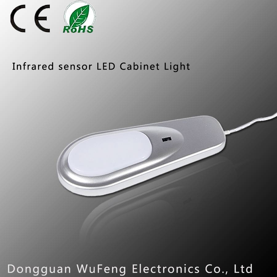 Built-in infrared sensor, LED Cabinet Light with CE RoHs Certification