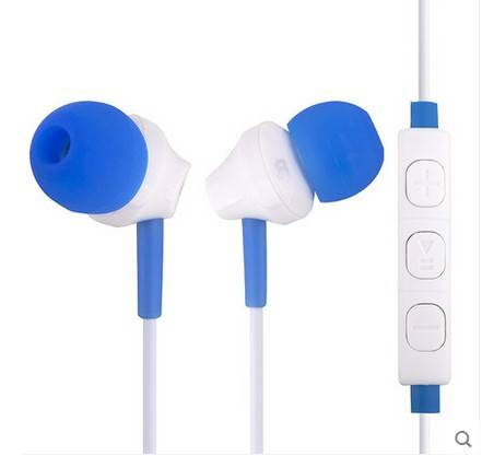 new style handfree 3.5mm zipper earphone headset for iphone / samsung /xiaomi