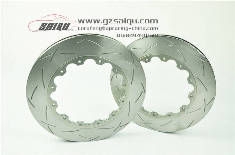 DICKASS Auto Brake Disc 355*32mm T3 Curved Grooved Surface