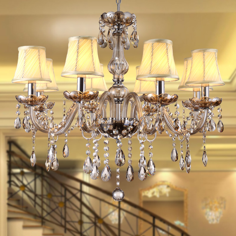 Bedroom Kitchen Chandelier Novelty Lighting lustres de sala for home decorate modern large crystal