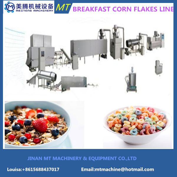 New Popular Breakfast Cereal Production Line