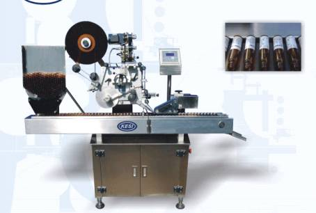Horizontal Ampoule/Vial Label Machine