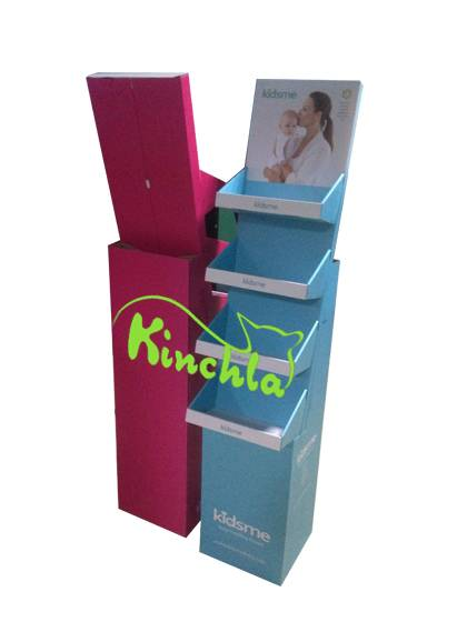 Kinchla POP POS Cardboard Paper Floor Display Racks