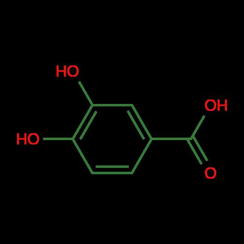 Traditional Chinese Medicine Compounds Protocatechuic Acid CAS NO.99-50-3