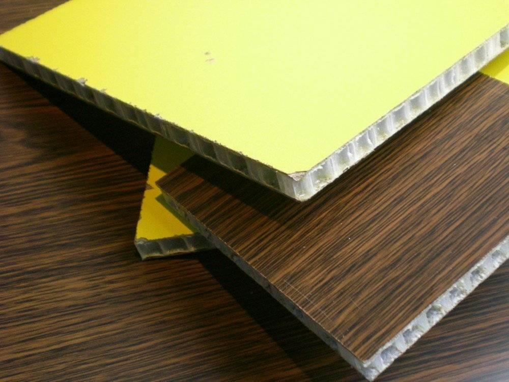Fireproof honeycomb panel