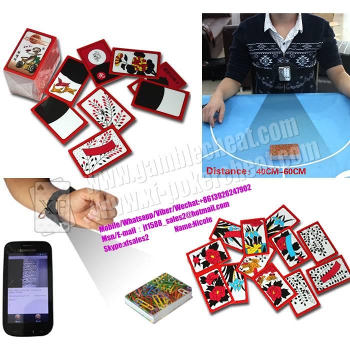 Korea Huatu Barcode Marked Playing Cards For Poker Analyzer Gostop Bullfighting Game