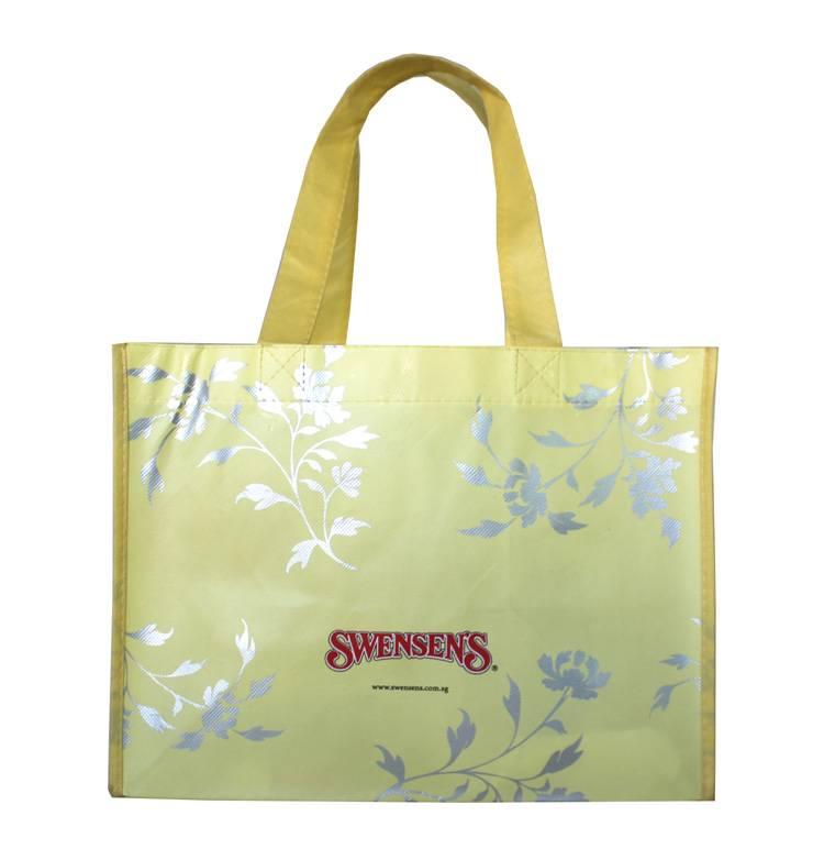 eco-friendly laminated non-woven gift bag