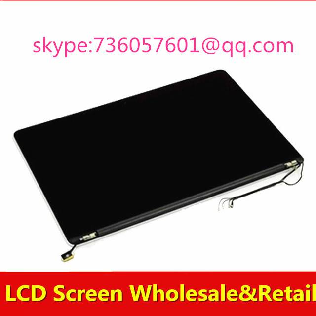 99% new Original lcd led screen assembly for Apple Macbook Pro retina A1502 ME864 ME866 ME865 MGX72