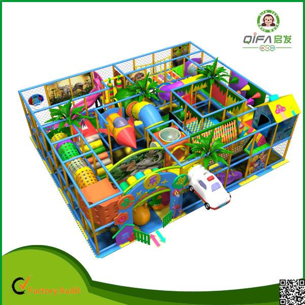Amusement playground indoor
