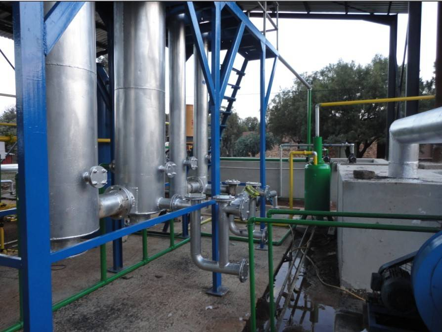 waste rubber tyre recycling machine
