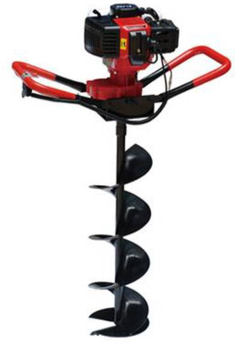 Earth  auger tow handle