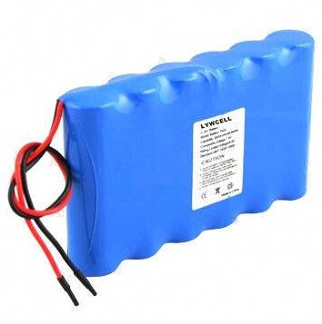 18650 Lithium Battery Pack with 1,800 to 2,800mAh Capacity and 3.7V Normal Voltage