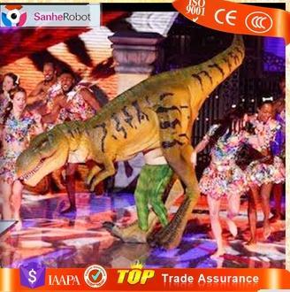 High emulation realistic dinosaur adults carnival costume dino