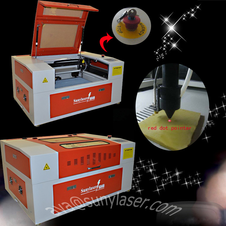 Small Size Rubber Laser Engraving Machine 50w