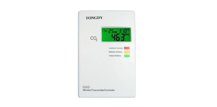 Hot sale Indoor Air Quality wall mount CO2 Transmitter with Optional RH&Humidity