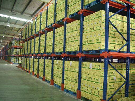 Very Narrow- Aisle Pallet Racking System